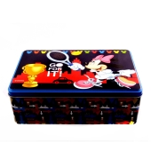 Prenses , Mickey-Minnie, Cars Metal Sandık